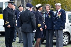 Veteran Bill Bannerman - Seafarers Service at Glasgow Cathedral 2015