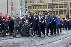 Royal Artillery Association - Remembrance Sunday Glasgow 2015