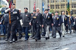 Veterans - Remembrance Sunday Glasgow 2015