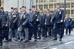 Veterans on Remembrance Sunday Glasgow 2015