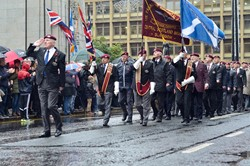 Parachute Regiment Association - Remembrance Sunday Glasgow 2015