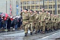 Army Cadets - Remembrance Sunday Glasgow 2015