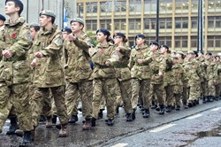 Cadets Parade - Remembrance Sunday Glasgow 2015