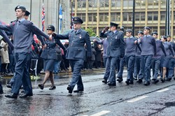 Air Training Corp - George Square, Glasgow, Remembrance Sunday 2015