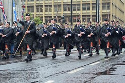 Pipe Band Police Scotland - Remembrance Sunday Glasgow 2015