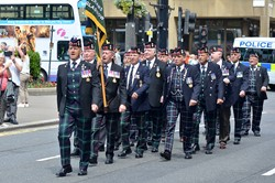 Veterans Royal Highland Fusiliers - Glasgow 2016