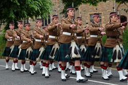 Stirling Military Show 2016 Parade