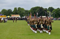 Stirling Military Show 2016 - Parade
