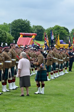 Stirling Military Show 2016 - Marjory McLachlan