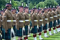Stirling Military Show 2016 - Royal Regiment of Scotland (The Highlanders 4 Scots)