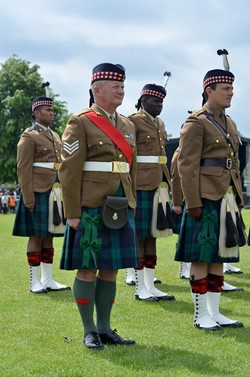 Stirling Military Show 2016 - Royal Regiment of Scotland Soldiers