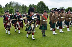 7 Scots Pipes and Drums - Stirling Military Show 2016 Main Arena