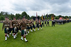 Stirling Military Show 2016 Parade in the Main Arena Kings Park
