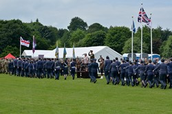 Stirling Armed Forces Day 2016 - Salute