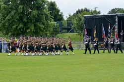 Stirling Military Show 2016 Parade March Off