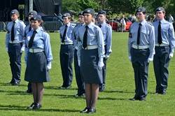Air Cadets (ATC) - Armed Forces Day 2016 Stirling