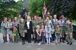 Polish Scouts Edinburgh Wojtek Memorial