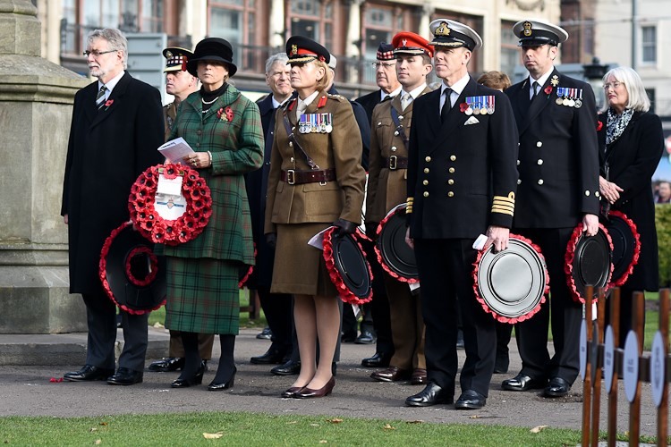 Edinburgh Garden of Remembrance 2016 - Official Wreath Laying Party