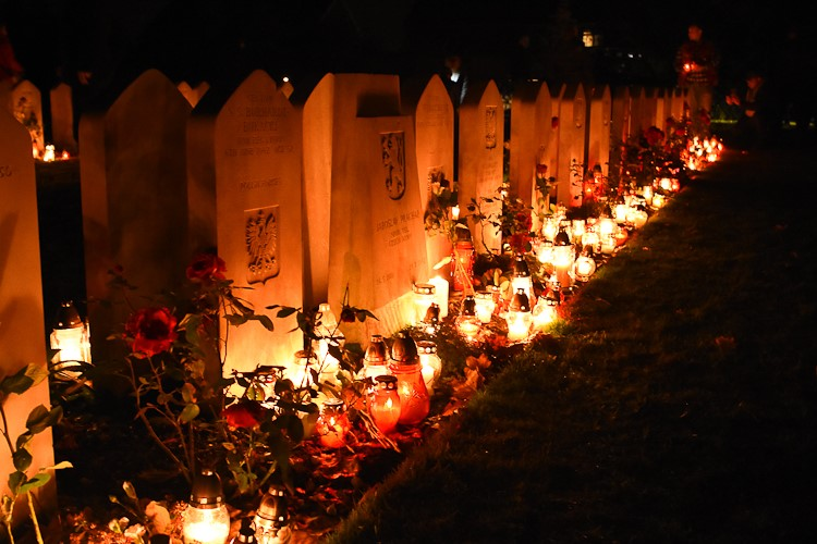 Polish War Graves - All Saints Day Corstorphine Edinburgh 2016