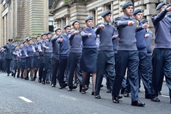 Air Cadets - Remembrance Sunday Glasgow 2016