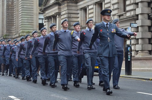 Air Corps (ATC) - Remembrance Sunday Glasgow 2016