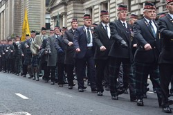 RHF Veterans - Remembrance Sunday Glasgow 2016