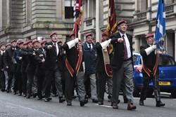 Parachute Regiment Veterans - Remembrance Sunday Glasgow 2016