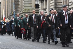 Veterans - Remembrance Sunday Glasgow 2016