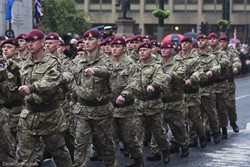 Parachute Regiment - Remembrance Sunday Glasgow 2016