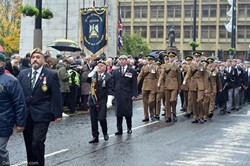 Royal Scots Dragoon Guards - Remembrance Sunday Glasgow 2016