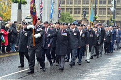 Royal Engineers Association - Remembrance Sunday Glasgow 2016