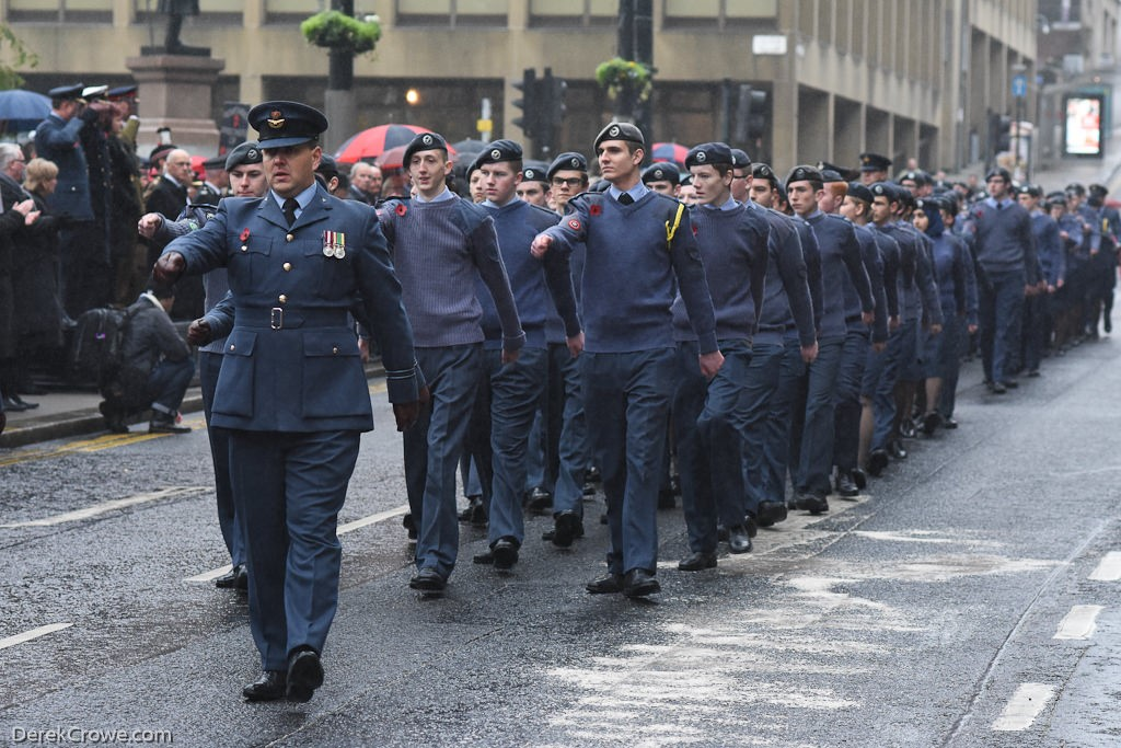 Air Training Corps - Remembrance Sunday Glasgow 2016