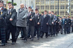 RHF Veterans Parade - Remembrance Sunday Glasgow 2016