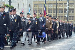 Veterans on Parade - Remembrance Sunday Glasgow 2016