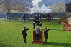 21 Gun Salute Stirling Castle November 2016