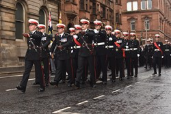 Royal Marines - Remembrance Sunday (Armistice Day) Glasgow 2018