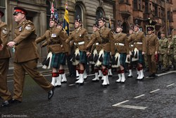 Royal Regiment of Scotland - Remembrance Sunday (Armistice Day) Glasgow 2018