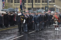 Royal Marines Association - Remembrance Sunday (Armistice Day) Glasgow 2018