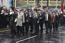 Royal Artillery Association - Remembrance Sunday (Armistice Day) Glasgow 2018