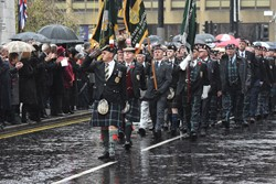 Highland Light Infantry - Remembrance Sunday (Armistice Day) Glasgow 2018