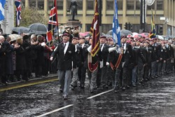 Parachute Regiment Association Veterans - Remembrance Sunday (Armistice Day) Glasgow 2018