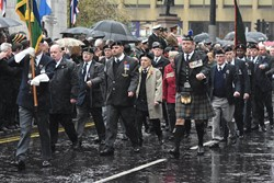 Royal Signals Association - Remembrance Sunday (Armistice Day) Glasgow 2018