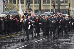 Polish Combatants Memorial Group - Remembrance Sunday (Armistice Day) Glasgow 2018