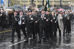 Veterans George Square - Remembrance Sunday (Armistice Day) Glasgow 2018