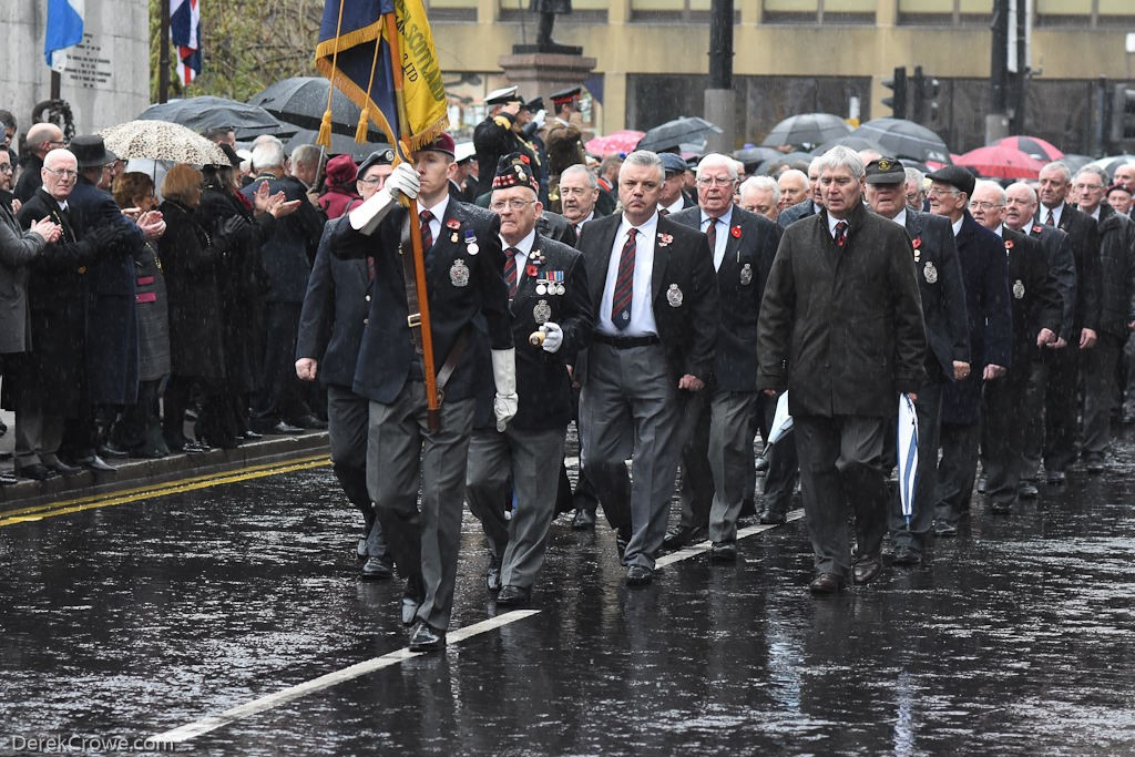 Royal British Legion - Remembrance Sunday (Armistice Day) Glasgow 2018