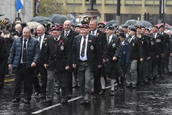 Parade of Veterans - Remembrance Sunday (Armistice Day) Glasgow 2018