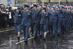 Air Training Corp (ATC) - Remembrance Sunday (Armistice Day) Glasgow 2018