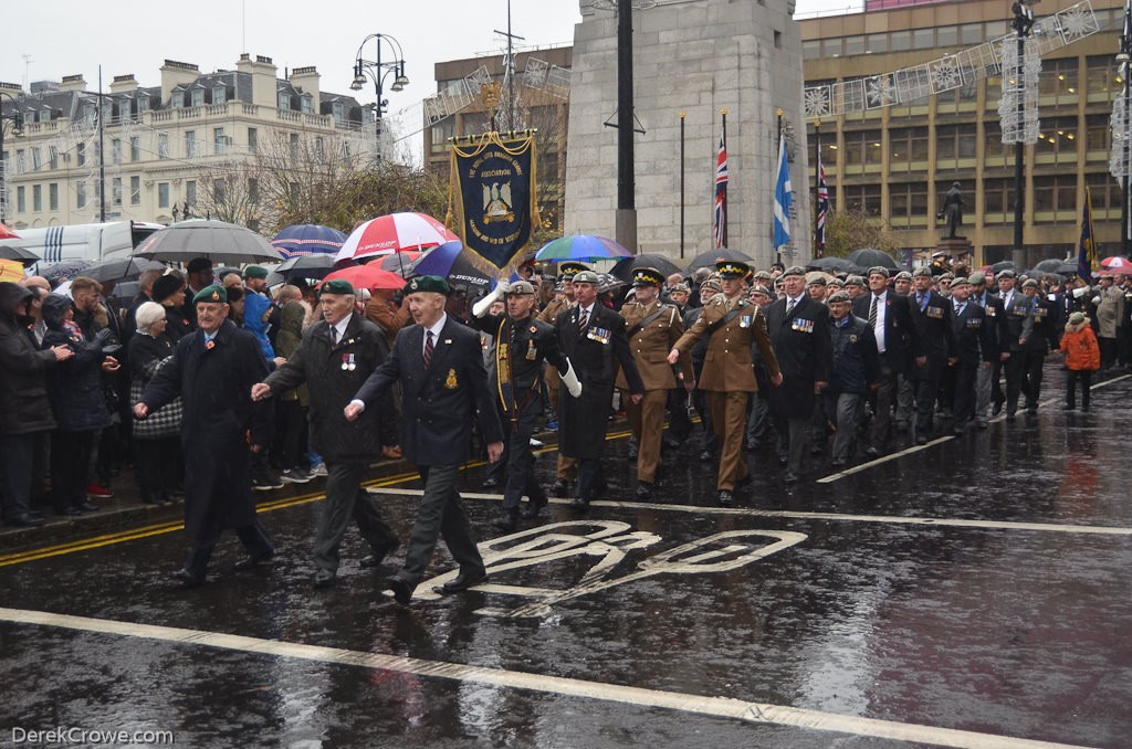 Royal Scots Dragoon Guards - Remembrance Sunday (Armistice Day) Glasgow 2018