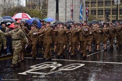 British Army Soldiers - Remembrance Sunday (Armistice Day) Glasgow 2018