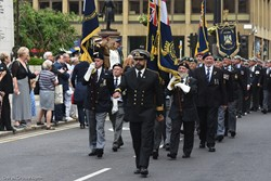 Royal Marines and Royal Navy Veterans - Armed Forces Day Glasgow 2019
